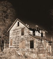 Abandoned House *In cam HDR+Antique Edit* by PAlisauskas