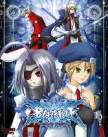 BlazBlue Cover Concept by ZhaneBX