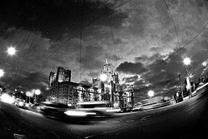 moscow dusk by d--i