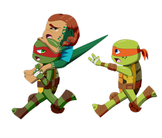 TMNT: Kidnapped by xXAmaya-himeXx