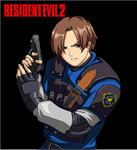 Leon S. Kennedy by Riklaionel