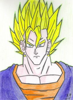 Super Sayan Vegetto by Turock-X