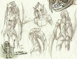 Zora Sketches by YwisArchaic