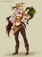 Mother of Dragons by 7Lisa