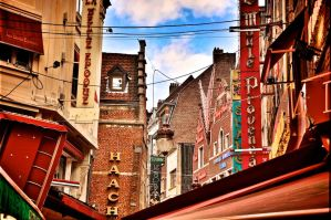 Streets of Brussels by DynOpt