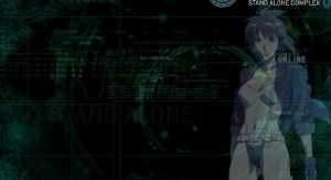 ghost in the shell SAC wallpap by app13pi3