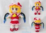 Scarlet Flandre Plush doll by dolphinwing