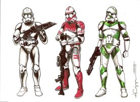 ROTS CLones by ncajayon