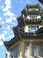 Pagoda to the Sky by anna