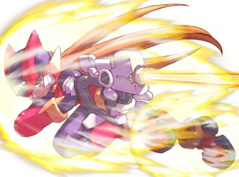 Megaman Zero overpowered by GabrielX99
