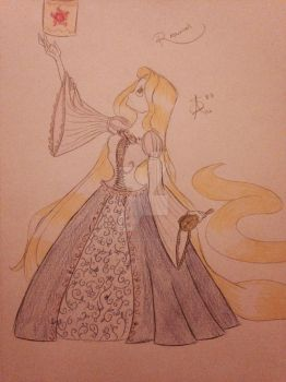 Limited Edition Rapunzel by MySapphireReverie