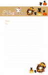 Free Halloween letter paper by tho-be