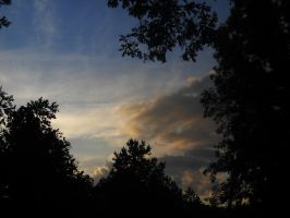 The sky at 8pm by DeannaBeBangin