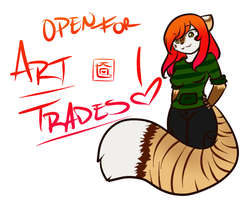 Art trades open by candykittycat