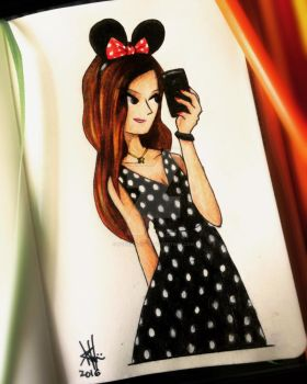 PaolaD. (Minnie Selfie Ver) by gonziengfiao