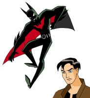 Batman Beyond Terry McGinnis by insectikette