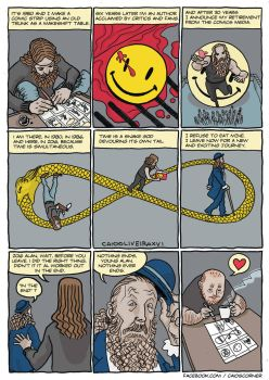 Alan Moore Tribute by caiooliveira