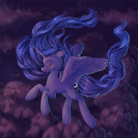 Princess Luna by TuffMuffins