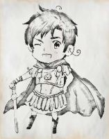 Rome Drawing scanned. by 1stawesome