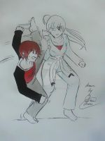 Ruby VS Weiss by KKirokoProductions