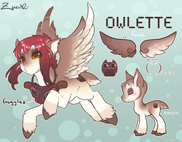 Owlette reference by Potionpony