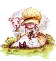 Sheep by Ines92