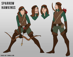 Concept: Sparrow by Triple-Torch-Art