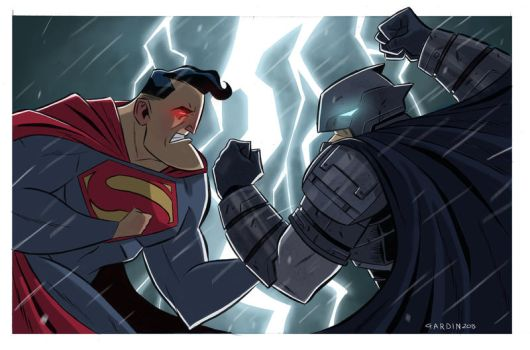 Batman Vs Superman by FedericoGardin