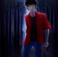 Marshall Lee by Ludozerkaa