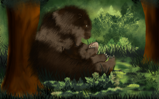 OmiContest: Bear by paint-Industries