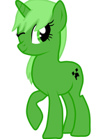 Creeper Pony by SunshineSmilesPony