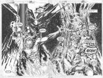 Hellstorm issue 1 double pager by MichaelBair