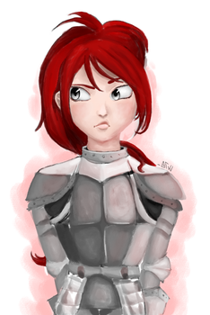 Armor Girl by HexFrogge