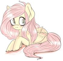 Fluttershy by JunoMaussi