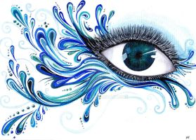 Element  eyes  #1  water by shiro1850