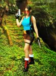 Lara Croft cosplay by Daelyth