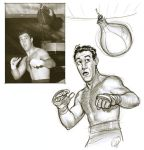 Rocky Marciano by deralbi