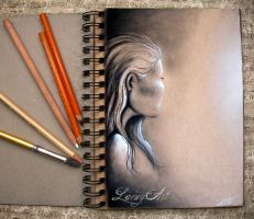 Sketch Journal - Face doodle by secrets-of-the-pen