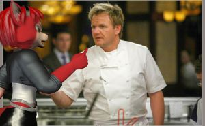 Krymson Tells Chef Ramsey off by Rachidna