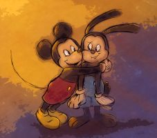 Mickey and His Big Brother by Zimeta