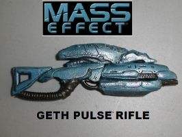 Geth Pulse Rifle by pyramidhead22