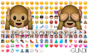 #Pack Monitos PNG (? by GuadiiTinista