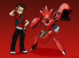 Hei the Crimson Trainer! by diasheitor