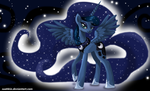 Princess Luna by Suahkin
