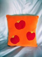 Applejack Pillow Large by CynicalSniper