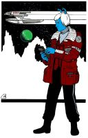Andorian Science Officer by buyer-218784