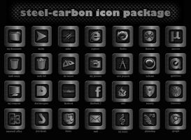 steel-carbon icon package by victor1410