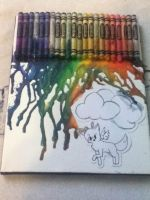 A Colorful Rain by WarriorTheDerp