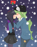 .:Under The Mistletoe:. by alexpc901