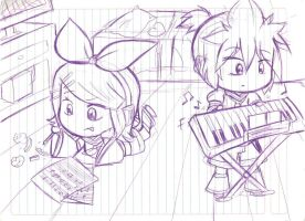 working to give you our best songs! by BLEEDFan95